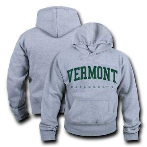 3b69ea44ed NCAA Vermont University Sweat-Shirt à Capuche Game Day Pull Laine ...