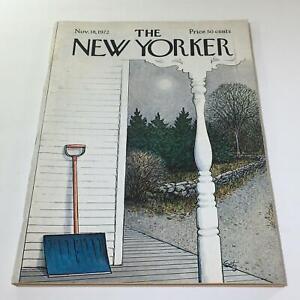 The-New-Yorker-November-18-1972-Full-Magazine-Theme-Cover-Charles-Getz