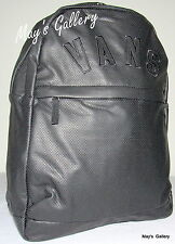 Vans Off the Wall Backpack School Gym Hand Bag Tote Travelling NWT Faux Leather