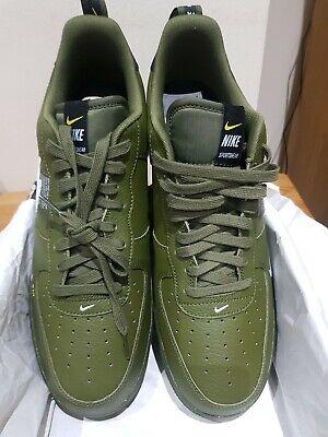 Nike Air Force 1'07 LV8 Utility Verde Oliva Scarpe Da Ginnastica Misura UK 13 | eBay