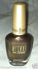 Milani Nail Polish * 14A CHOCOLATE SPRINKLES * Chocolate Brown w/Bronze/Gold/Red