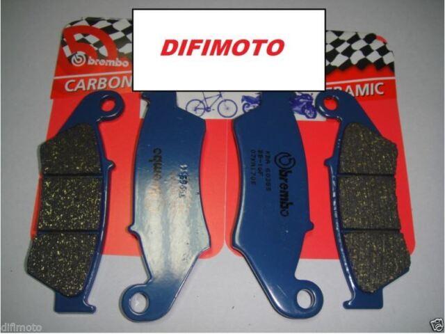 4 Pastillas de Freno Delantero Brembo Azul Carbono Ceramic Honda Atc 350X 1986