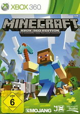 Minecraft: Xbox 360 Edition (Microsoft Xbox 360, 2013, DVD-Box)