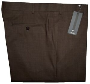 IMPERFECT-325-NEW-ZANELLA-NORDSTROM-120-039-S-BROWN-DRESS-PANTS-42