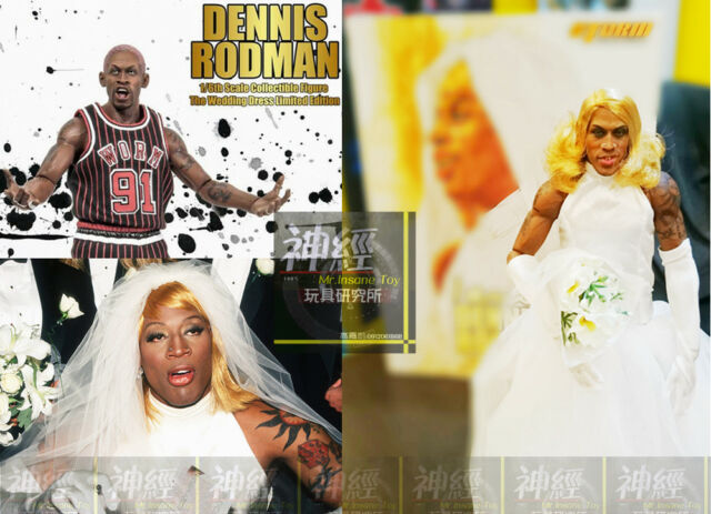 Scale Dennis Rodman Figure Bad Boy Special Edition By Storm