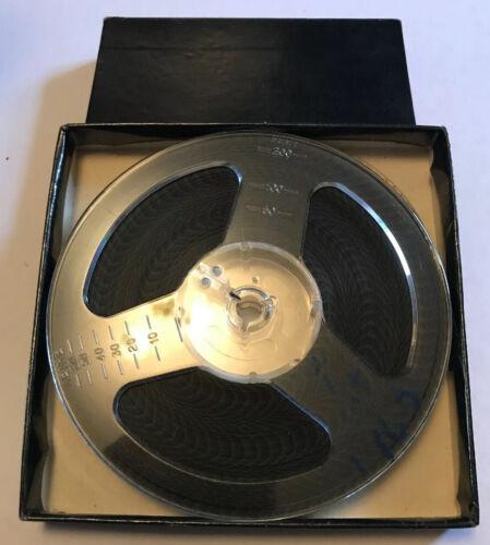 Rara Vintage STD 8mm Cine Película Escocia vs Inglaterra 1965 fútbol WEMBLEY 200ft