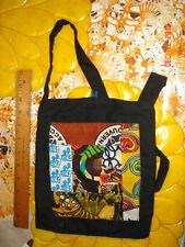 VTG ESTATE OOAK ARTS HM PATCHWORK MOD HIPPIE CROSS BODY PURSE SLING BAG UNISEX