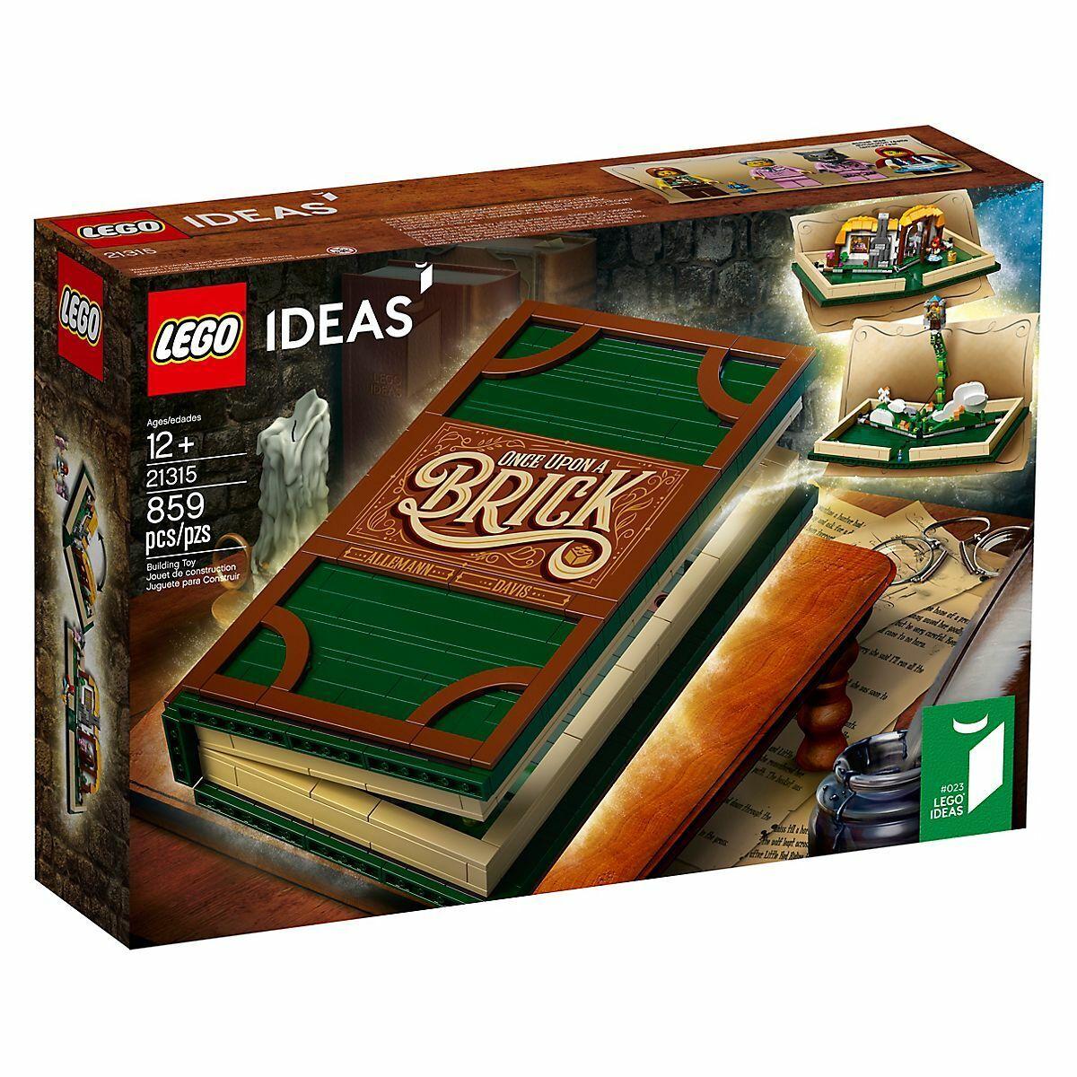 LEGO 21315 Popp-up - iDEAS 12 Pz 859
