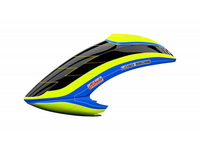 Canopy Mikado LOGO 550 SE V3 Neon-Yellow bluee