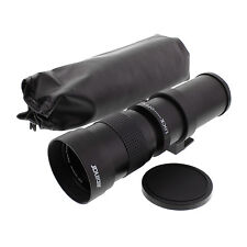 420-800mm F/8.3-16 Tele Lens for Sony Alpha NEX 6,7S,7R,A6000,A5000,A3500,A3000