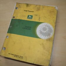 John Deere 7520 Tractor Spare Parts Catalog Manual List Book 1995 Spare 4wd 1291