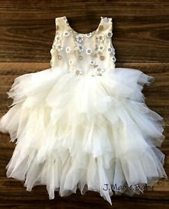 Toddler-Baby-Girls-Flower-Girl-Lace-Tulle-Dress-Birthday-Party-Gift-Wedding