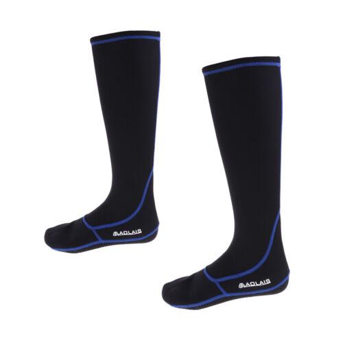3mm Neoprene Scuba Diving Socks Water Sport Wet Suit Long Boots Dive Gear