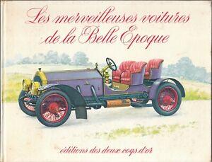 1969-Les-Merveilteuses-Voitures-De-La-Belle-Epogue-Classic-cars-Color-Plates