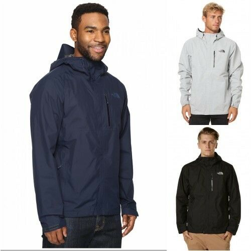 da8979f9ff12 The North Face Dryzzle Hooded Rain Gore-tex Jacket Mens XLarge Urban Navy  for sale online