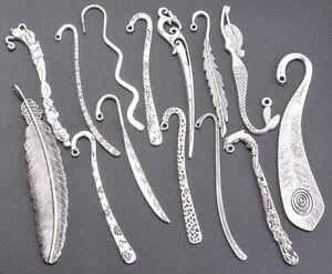 Free-Shipping-10pcs-Tibetan-Silver-Charms-Nice-Bookmarks-U-PICK-TYPE