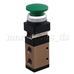 PT1-4-Green-Push-Button-Pneumatic-Mechanical-Valve-MSV-98322PB