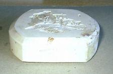 Wedgwood Jasperware White Original Mould JCB Tractor Design