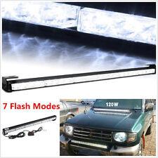 Car 4x4 Offroad Emergency Strobe Bumper/Roof Lights Beacon Flash LED Light Bar