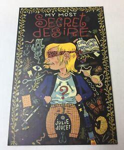1995-promo-postcard-JULIE-DOUCET-My-Most-Secret-Desire