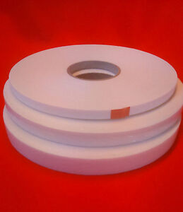 Double-Sided-Foam-Tape-White-amp-Black-1mm-2mm-and-3mm-in-various-widths