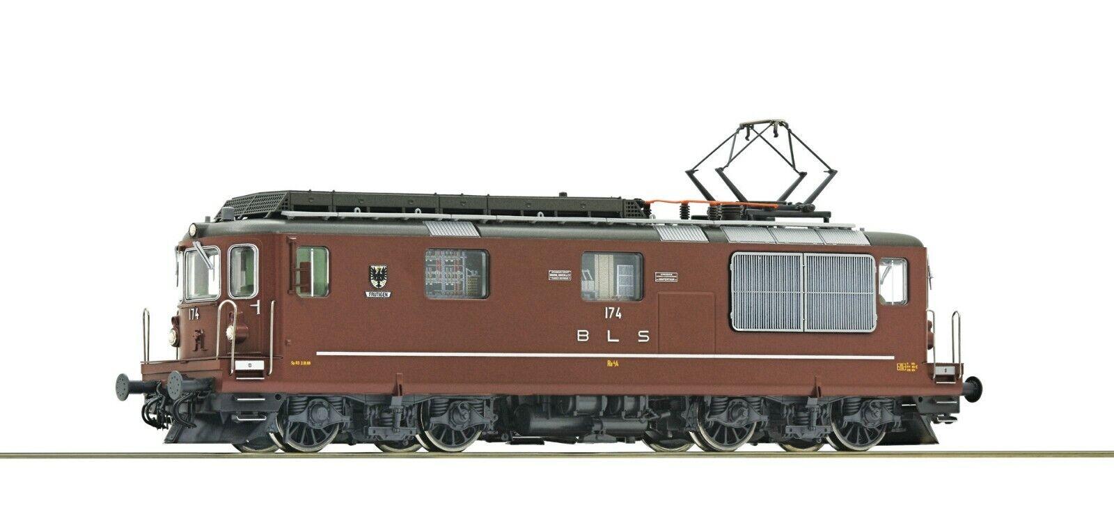 Roco HO scale Electric locomotive Re 4/4 BLS