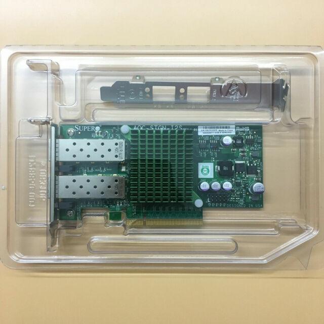 LAN Card Intel 82599 X520-SR2 Supermicro AOC-STGN-i2S 10Gb Dual Port SFP