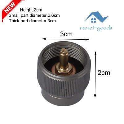 Camping-küchenbedarf Sport Propane Gas Tank Input En417 Valve Output Convert Cylinder Canister Adapter Ed Feines Handwerk