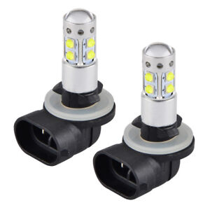 2x Led Headlight Bulb For Polaris Atv Ranger 400 570 700