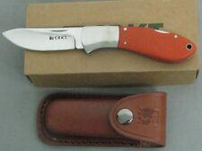 COLUMBIA RIVER KNIFE 2841 CRKT TWO-SHOT ORANGE G10 FOLDING SKINNER LOCKBACK NEW