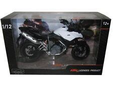 AUTOMAXX KTM 990 SM-T WHITE/BLACK 1/12 MOTORCYCLE MODEL 601703