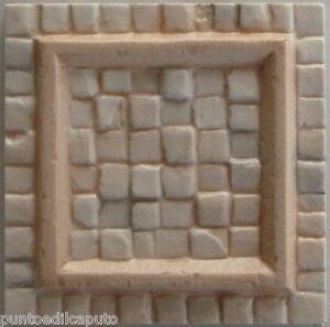 Tozzetto greca in ceramica per rivestimento cm 10 x 10 per - Greca per bagno ...