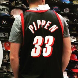 separation shoes 47eea c9bf9 Details about New Vintage Champion Scottie Pippen #33 Portland Trail  Blazers NBA Jersey XXL 52