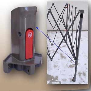 Coleman 12 X12 Instant Canopy Gazebo Leg Slider Pole