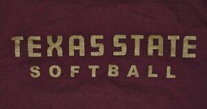 Texas State University Boko the Bobcats NCAA Logo Licensed T-Shirt S-2XL