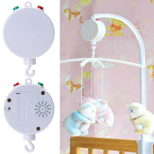 Novelty Baby Kids Infant Crib Mobile Bed Bell Toy Holder Wind-up Music Box UK