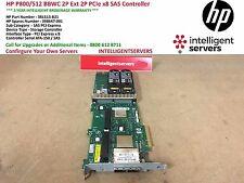 HP P800/512 BBWC 2P Ext 2P PCIe x8 SAS Controller 381513-B21