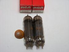 MATCHED SET PAIR 2 RCA 7189 Vtg Guitar Amp Vacuum Tube Replacement Parts NOS NIB