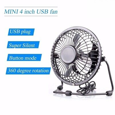 Pink 1pc Usb Mini Adjustable Fan Electric Desktop Quiet Fans for Office Home