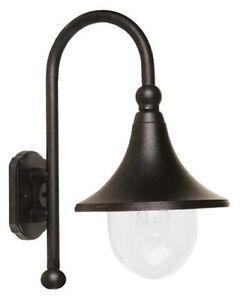 Lampione lampioncino da giardino a parete lampada a muro for Lampioni per esterno