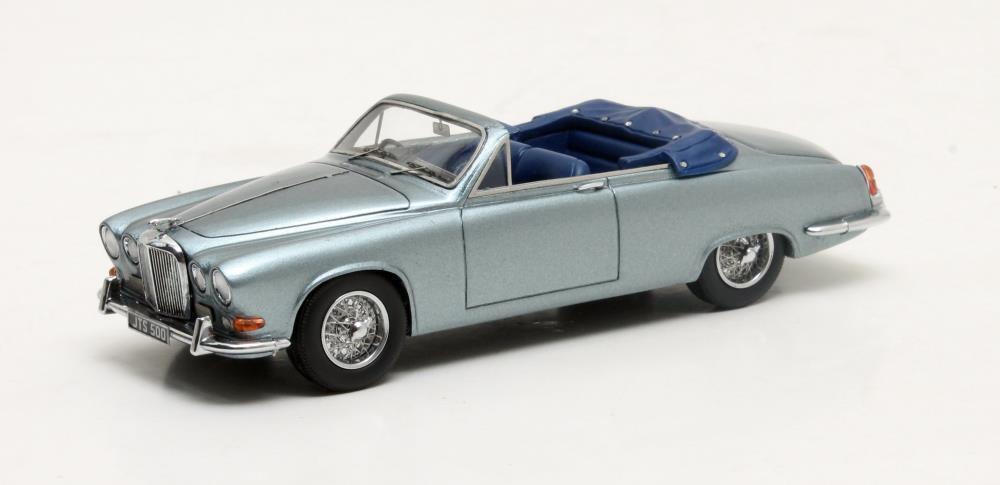 Jaguar 420 Harold Radford Convertible Convertible Convertible  blu Metallic   Matrix 1:43/ MX41001-091  027379