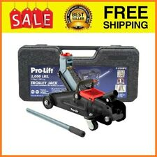 F 2315pe Grey Hydraulic Trolley Jack Car Lift With Blow Molded Case Lbs Capacity