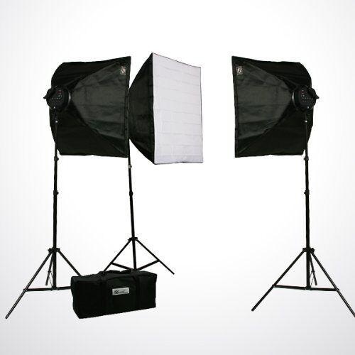Fancierstudio Studio Video 4500w Digital Photography 3 Softbox Lighting