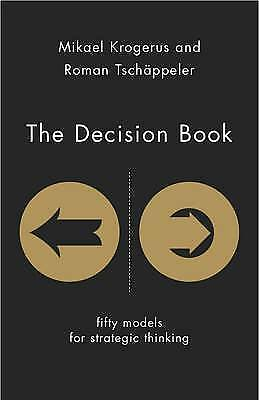 1 of 1 - Decision Book: Fifty Models for Strategic Thinking..Krogerus..H/C..VGC  mnf746