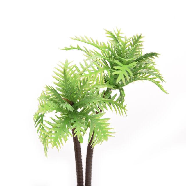 Plastic Aquarium Coconut Tree Fish Tank Plants Ornament Decoration Fresh New rw