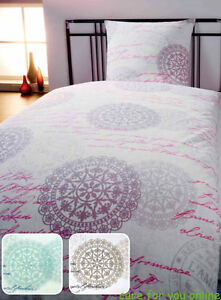 dyckhoff weichfrottier bettw sche shabby chic vintage 3. Black Bedroom Furniture Sets. Home Design Ideas