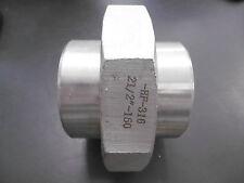 """Edelstahl Fitting Verschraubung Verbinder 2 1/2"""" AISI 316 flach dichtend NEU"""