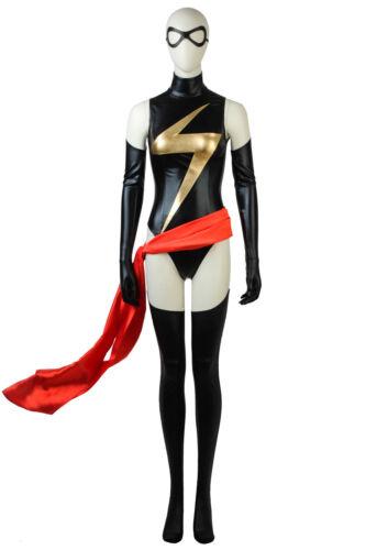 Captain Marvel Cosplay Carol Danvers Ms Marvel Comic Con Costume Fancy Dress