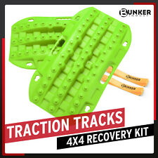 Bunker Indust Pair Off Road Traction Boards Recovery Tracks Traction Mat
