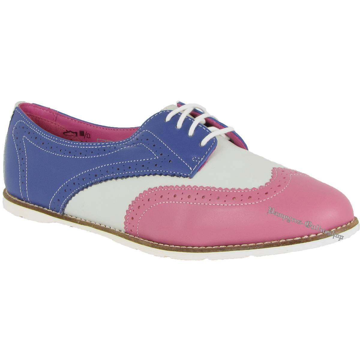 Dr. Martens Polina Danio 14506670 Pink Grau Blau Raspberry Off WEISS Blau Neu